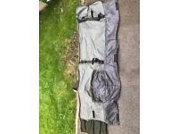 Crane carp rod bag