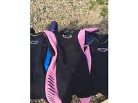 3 shortie wetsuits