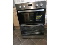 Zanussi double oven fan assisted Electric oven brand new with superficial defect
