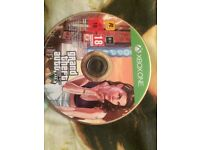 gta 5 xbox one mint condition just no case £13 no offers please text