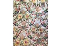 Liberty glazed chintz curtains