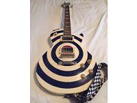 Indie Guitars Bullseye Design Les Paul
