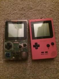 2 x Nintendo gameboy pocket