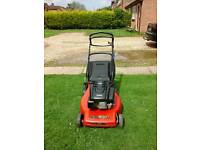 Mountfield lawnmower ( self-propelled )alloy deck.