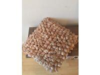 KEENS Furniture Handmade Pebble Taupe Cushions x 4