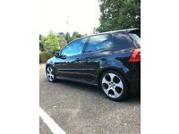 Vw golf GTI mk5 FULL VW service LEATHER satnav