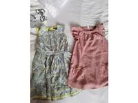 Girl dresses of bundle from m&s age 6-7