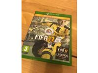 Fifa 17 for Xbox one willing to swap