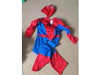 Spider-Man fancy dress age 7-8