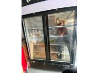 Glass Doubledoor Display Freezer (Interlevin)