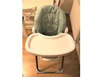 mamas & papas fully adjustable highchair