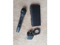 Trantec S3.2 VHF Handheld Microphone. 173.80 Mhz.