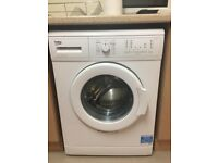 Beko washing machine only 12mth old in excellent condition can drop off free if local