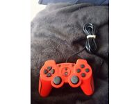 Red PS3 turbo controller