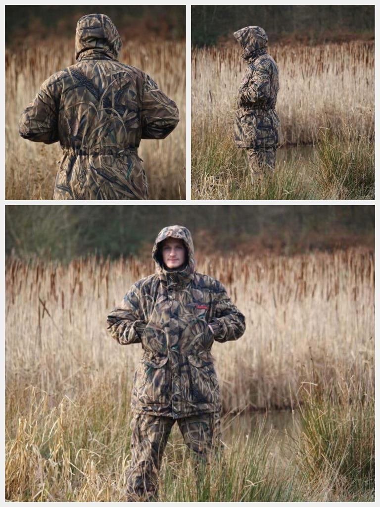 Camouflage camo RAFTLAYER New Generation Hunting and Fishing Suit(Unlimited FLOATATION)