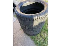 255/45/20 x4 tyres Bridgestone runflat