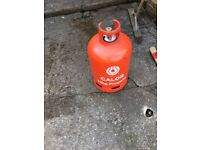 13kg callor gas bottle over half full