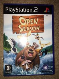 Open season the game for Playstation 2