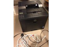 Dell C2660dn Printer in working order, with spare toners