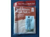 Non woven work suit with hood for DIY
