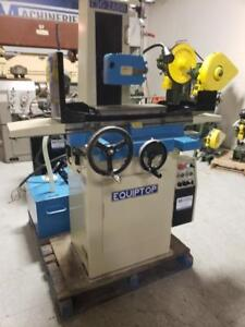Surface Grinder / Rectifieuse equitop hydraulique 8×18