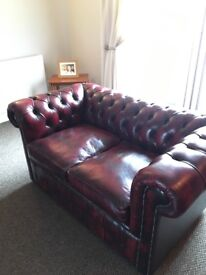 3 piece, 2 piece and armchair classic chesterfields like new cond 3 piece, 2 piece and chair