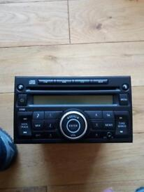Nissan CD player came out my van was working fine till I lost code
