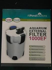 External filter (for a fish tank)