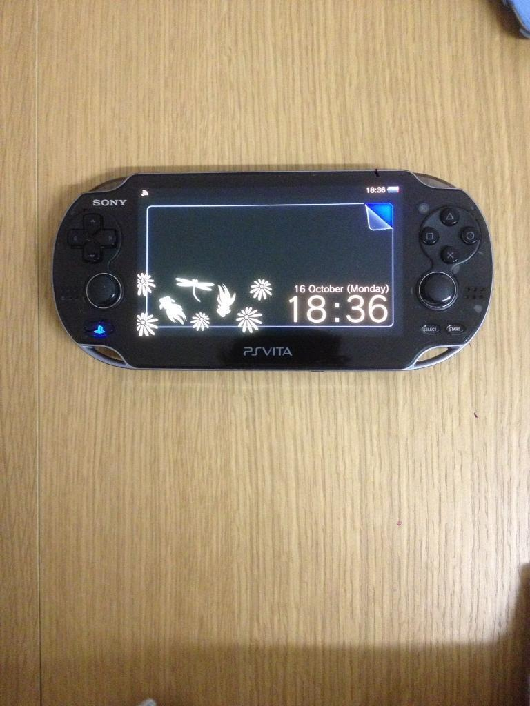 PS vita oled with 16gb memory & game