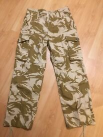 Army surplus - Desert combat trousers