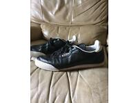Firetrap leather trainers