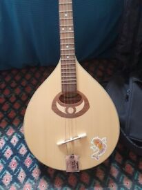 Irish style Mandola for sale including gig bag.