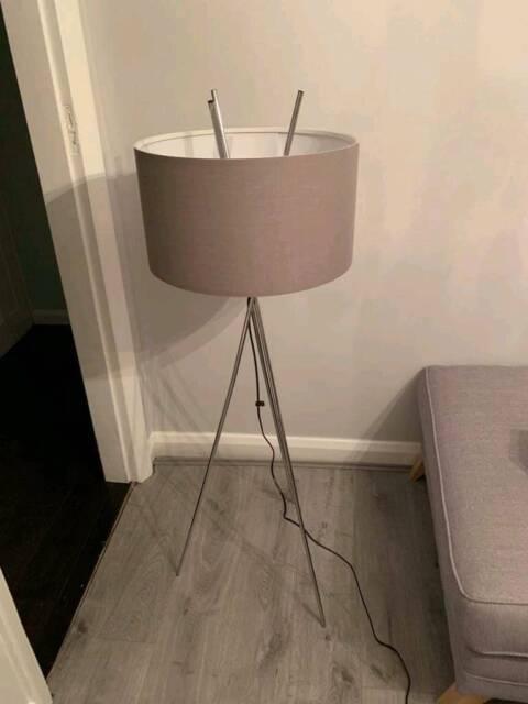 meet dd762 e0f57 Wayfair Tripod Floor Lamp Grey | in Wimborne, Dorset | Gumtree