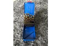 Drill bits hss set metal 24 piece 1-13mm