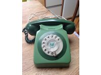 Retro Original Vintage Old style telephone