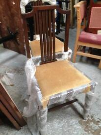 Two matching chair new