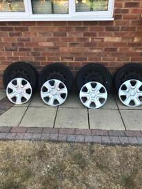 2011 Ford Fiesta wheels 15""