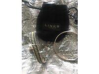 Links of London friendship bracelet & silver bangle