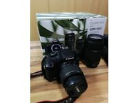 Canon 1300d 18 megapixel Camera double lens kit.