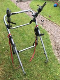 Bike rack for 5 door car