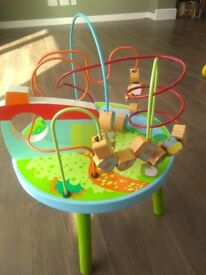 Wooden activity table - Maze