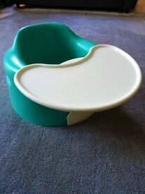 Bumbo chair with tray - £5