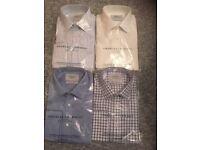"Four New Charles Tyrwhitt Shirts (16"")"