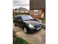 Renault Clio 2004 Black