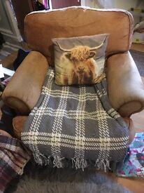 2 x Comfortable Armchairs