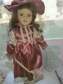 Porcelain doll Flora