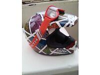 Off road crash helmet