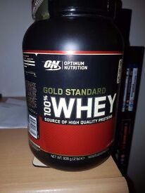 GOLD STANDARD WHEY PROTEIN (2 lbs)