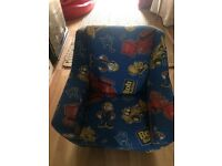 Childs Bob the Builder arm chair