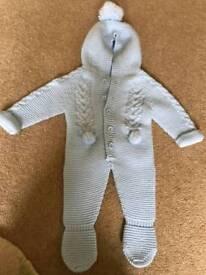Jacob Matthews knitted suit